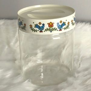 Vintage Corning Ware Country Festival Canister